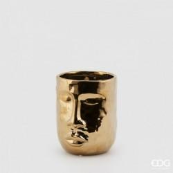 VASO FACCIA GOLD H17 D14 C0